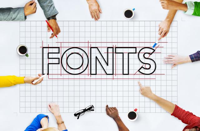 フォント選びは、広告の佇まいを表現する大事な要素